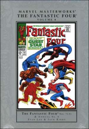 Marvel Masterworks: The Fantastic Four (2003-Present)#HC Vol 8A