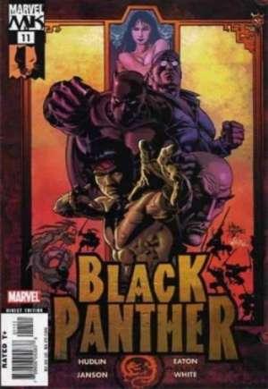 Black Panther (2005-2008)#11B