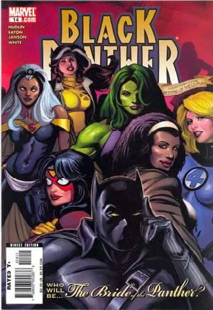 Black Panther (2005-2008)#14B