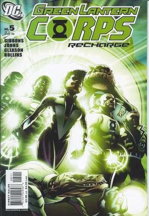 Green Lantern Corps: Recharge#5