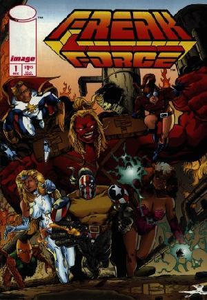 Freak Force (1993-1995)#1