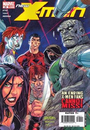 New X-Men (2006-2008)#25