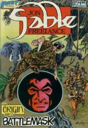 Jon Sable, Freelance (1983-1988)#4