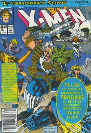 X-Men (1991-2001, 2004-2008)#16B