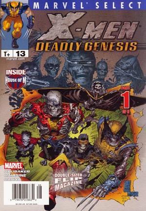 Marvel Select Flip Magazine#13