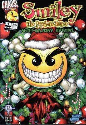 Smiley, The Psychotic Button: Anti-Holiday Special#1