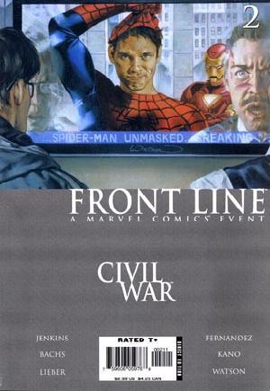 Civil War: Front Line (2006-2007)#2A