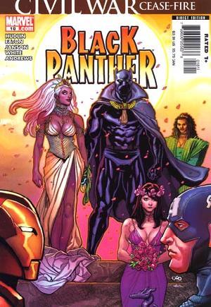 Black Panther (2005-2008)#18B