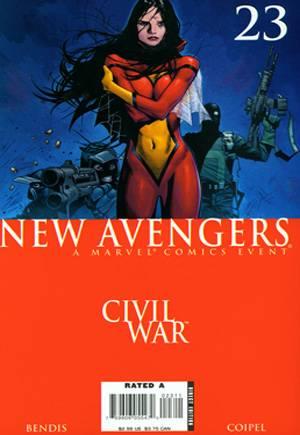 New Avengers (2005-2010)#23A
