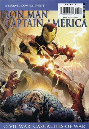 Iron Man/Captain America: Casualties of War (2007)#1A