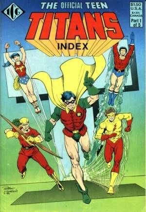 Official Teen Titans Index#1