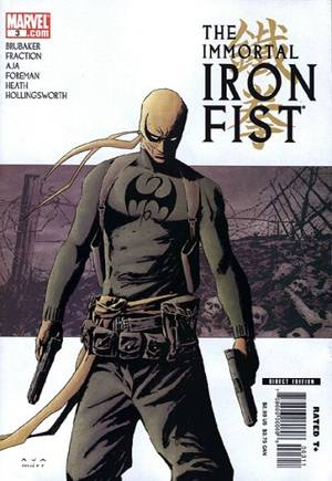Immortal Iron Fist (2007-2009)#3