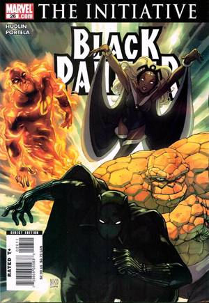 Black Panther (2005-2008)#26B