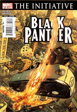 Black Panther (2005-2008)#27