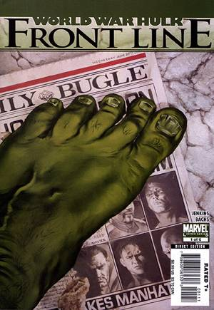World War Hulk: Front Line (2007-2008)#1