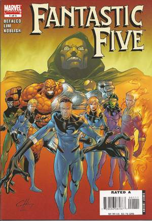 Fantastic Five (2007) #1