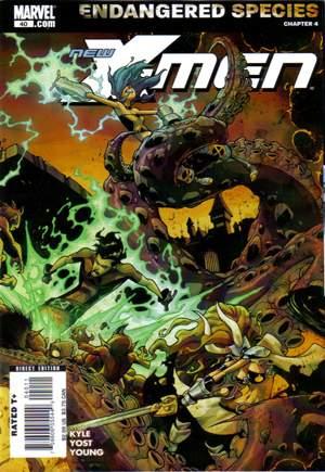New X-Men (2006-2008)#40