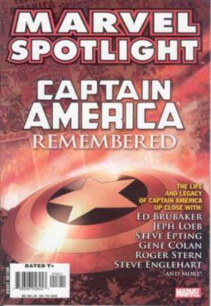 Marvel Spotlight: Captain America Remembered (2007)#1