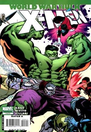 World War Hulk: X-Men (2007)#3