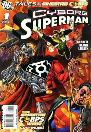 Tales of the Sinestro Corps Presents: Cyborg Superman #One-Shot