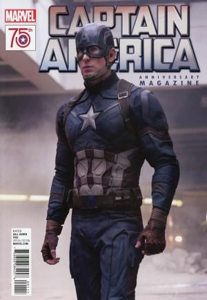 Captain America 75th Anniversary Magazine#1A