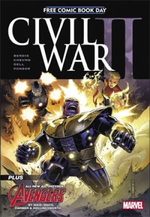 Civil War II (FCBD 2016)#1A