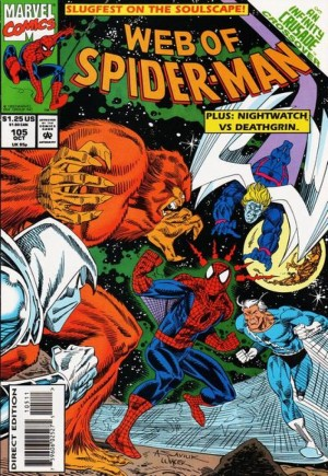 Web of Spider-Man (1985-1995)#105B
