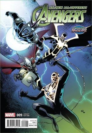 All-New, All-Different Avengers (2016-Present)#9B