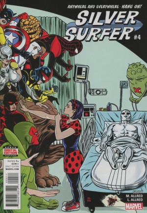 Silver Surfer (2016-Present)#4