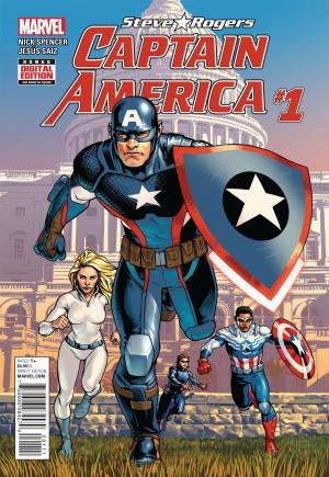 Captain America Steve Rogers#1A