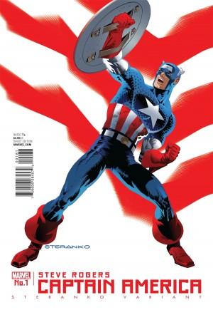 Captain America Steve Rogers#1F