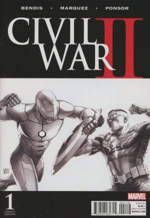 Civil War II (2016)#1O