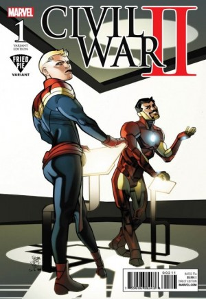 Civil War II (2016) #1Q