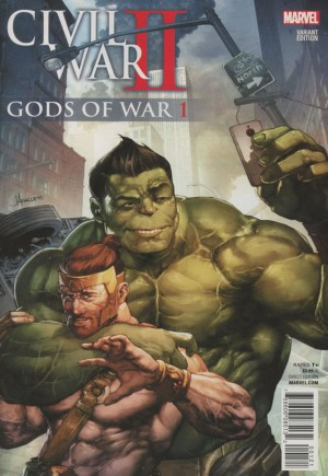 Civil War II: Gods Of War (2016) #1B