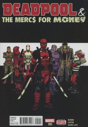 Deadpool & The Mercs For Money (2016)#5A