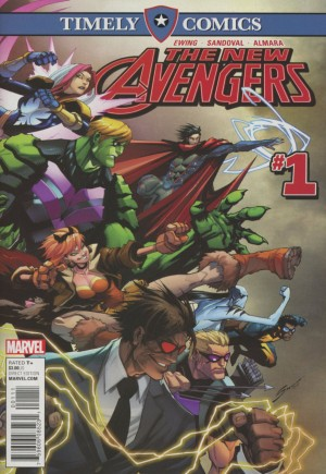 Timely Comics The New Avengers #1