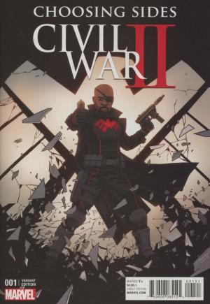 Civil War II: Choosing Sides (2016)#1B