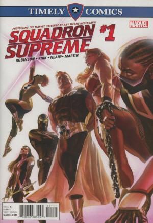 Timely Comics Squadron Supreme#1