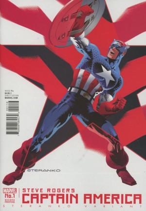 Captain America Steve Rogers#1J