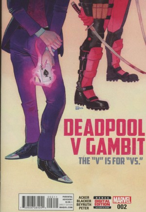 Deadpool V Gambit#2A