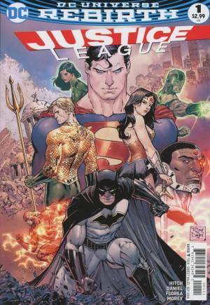 Justice League (2016-2018)#1A