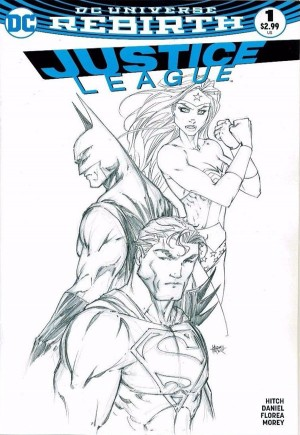 Justice League (2016-2018)#1F