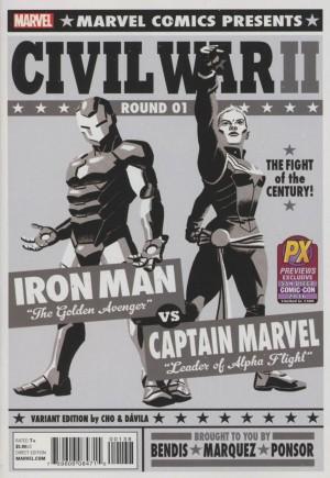 Civil War II (2016)#1W