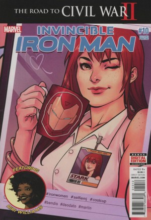 Invincible Iron Man (2015-2016)#10C