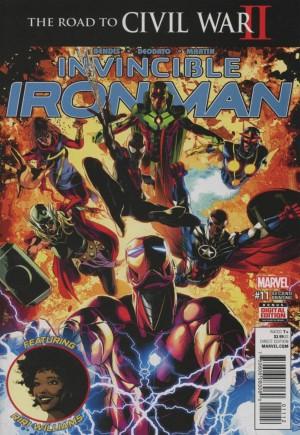 Invincible Iron Man (2015-2016)#11C