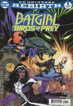 Batgirl and the Birds of Prey (2016-2018)#1A