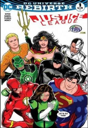 Justice League (2016-2018)#1M