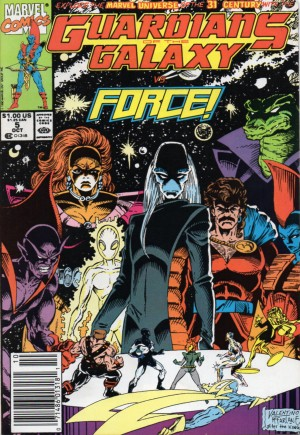 Guardians of the Galaxy (1990-1995)#5A