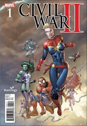 Civil War II (2016) #1Y