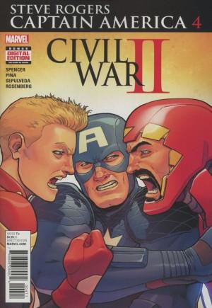 Captain America Steve Rogers#4